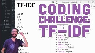Coding Challenge #40.3: TF-IDF