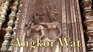 Angkor Wat, Kambodscha. Doku mit Sehenswürdigkeiten (7/13).