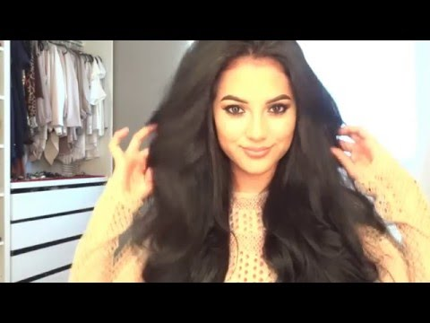 FROM FRIZZY TO  LOOSE CURLS W/EXTENSIONS | MARIA PALAFOX