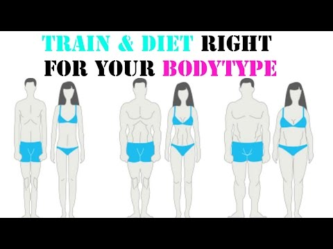 How to get a bigger hips & butt | Train & Diet for your Body Type ectomorph mesomorph endomorph