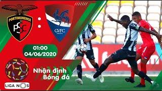 Nhận định, soi kèo Portimonense vs Gil Vicente 01h00 ngày 04/06 - Vòng 25 - Liga Nos 2019/2020
