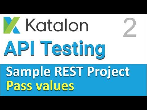 Katalon Studio Sample REST Project 2 | API Chaining in REST Part-1