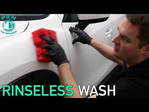 RINSELESS CAR WASH METHOD : EASY TUTORIAL !!