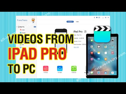 How to Backup Videos from iPad Pro to PC without iTunes