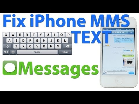 #1 Solution: Fix Photo Texting on ANY iPhone | Repair MMS Messaging