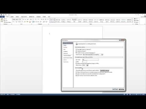 How to launch with blank document? Word 2013