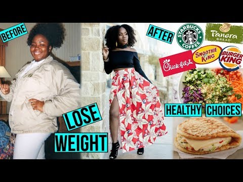 Healthy FAST FOOD Meal Options | HOW TO Order on the Go & LOSE WEIGHT!