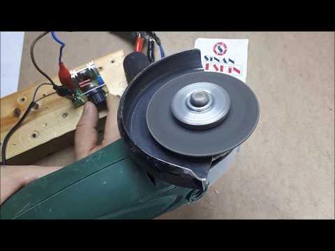 AC Motor Speed Control - 220V- AC Motor Hız Kontrol Devresi