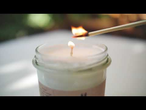 Holistic Massage Candle