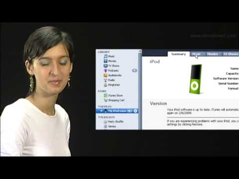New iPod Nano - How to transfer music onto iPod Nano automatically