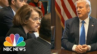 In Bipartisan Immigration Meeting, President Donald Trump Agrees With Two-Phase Approach   NBC News