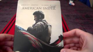 American Sniper Steelbook Unboxing Fnac Limited Edition