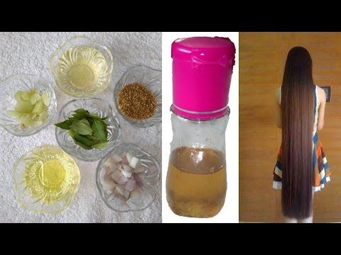 Magical Homemade Hair Growth Oil   Cures Dandruff   Prevents Hair Fall   Reverse Gray Hair