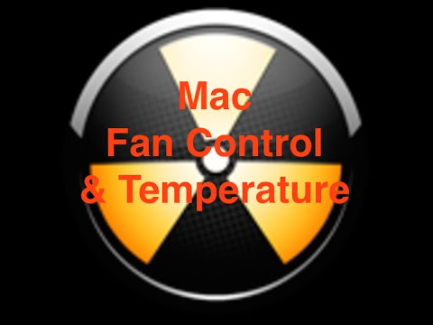 Mac Fan Control and Temperature Monitoring