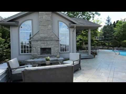 46 Ambleside Dr, Port Perry, Backyard, pool, guest house