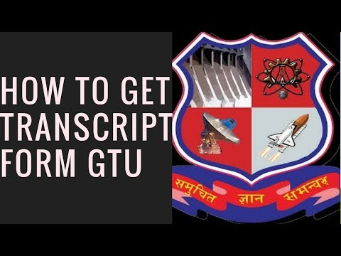 How to get Transcript from Gujarat Technological University