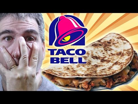 Taco Bell Shredded Chicken Mini Quesadilla REVIEW