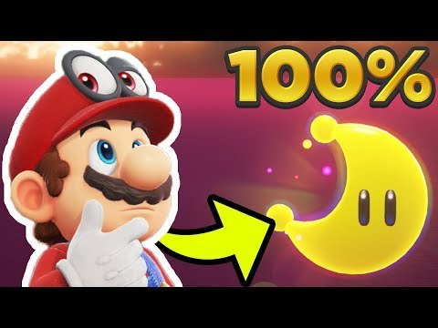 Super Mario Odyssey - Lost Kingdom ALL 35 POWER MOON LOCATIONS! [100% Guide]