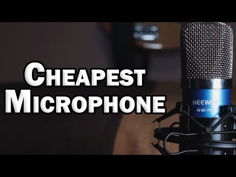 Neewer NW-700 Condenser Microphone Review – Cheapest Microphone for Home Recording