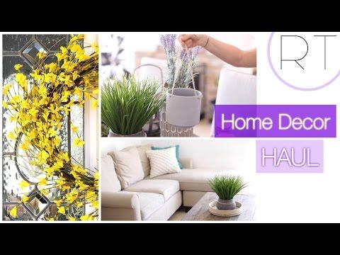 Spring Home Decor (Affordable Haul + Ideas)