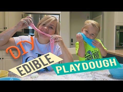 DIY EDIBLE PLAYDOUGH! (w/ Ollie!)