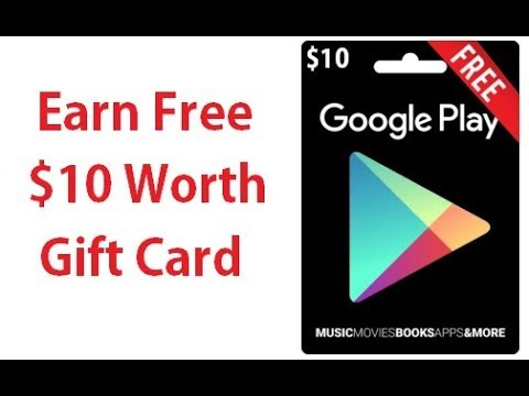 How to earn $10 worth Free Google Play Credits / Codes / Gift Cards? [100% Genuine Working Trick]