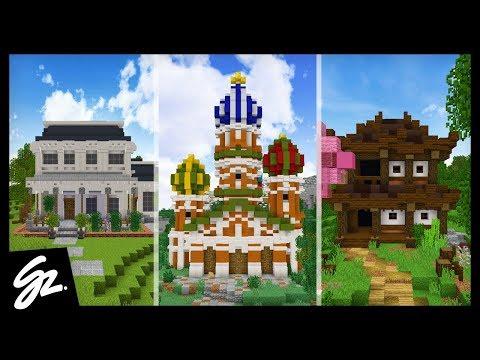 5 Minecraft Houses Around The World
