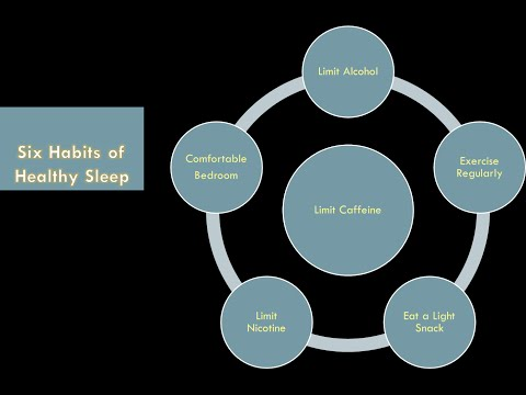 Six Healthy Sleep Habits