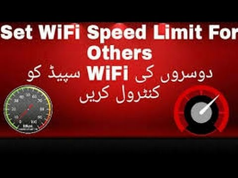 Control Internet / Bandwidth speed in TP Link router