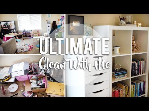 ULTIMATE Real Life Clean With Me!