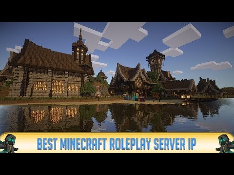 Minecraft 1.12.2 ROLEPLAY SERVER! (IP in Desc.) | Deep Lore! | RPG Server | 2018