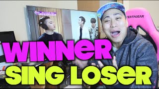 TAEYANG FT WINNER LOSER FUN REACTION
