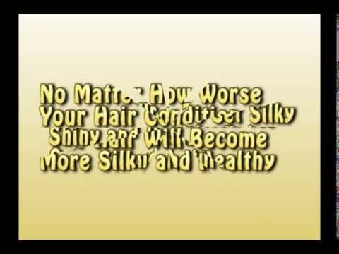How To Get Shiny Silky And Healthy Looking Hair