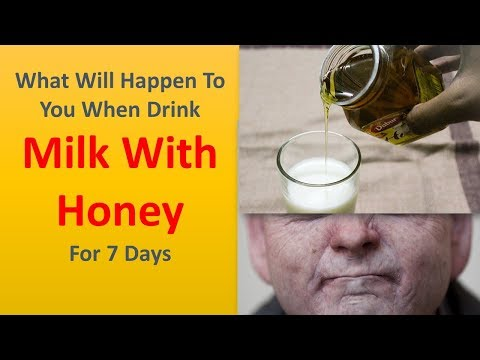 What Will Happen To You When Drink Milk With Honey For 7 Days