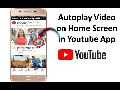 How to Enable Autoplay Video on Home Screen in Youtube App on Android
