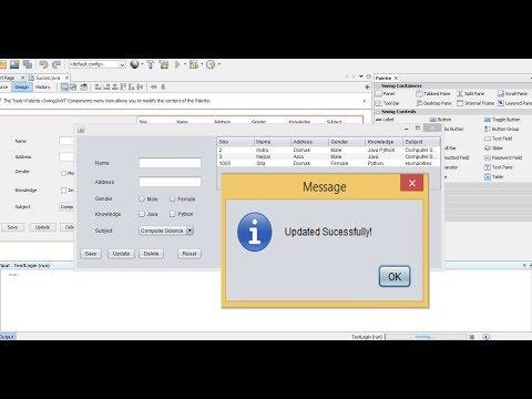 Update data in SQL server using Java