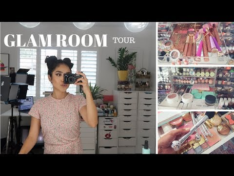 VLOG: Setting Up My Vanity + Mini Glam Room Update! Dulce Candy