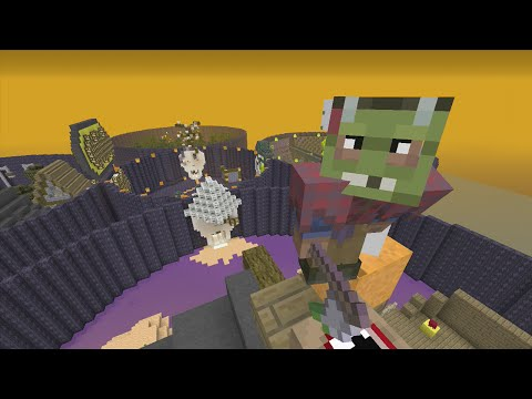 Minecraft (Xbox 360) - The Halloween - Hunger Games