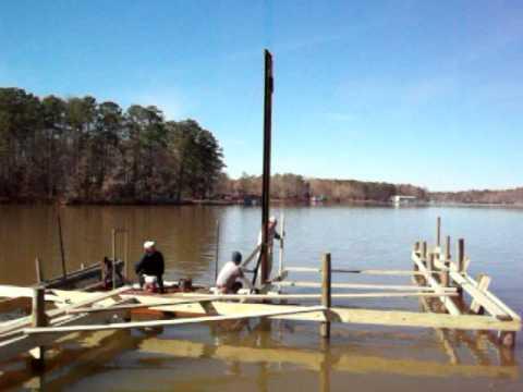Installing Dock Posts