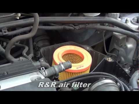 Replace air filter on Honda CR-V