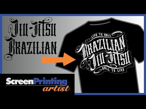 create a completely original tattoo font in this CorelDRAW tutorial