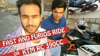 FAST AND FURIOUS RIDE  ON KTM RC 390