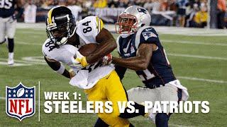 Antonio Brown Makes Incredible Catch | Steelers vs. Patriots | NFL