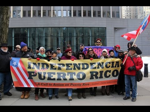 A Call to Action on Puerto Rico Demonstration at 26 Federal Plaza