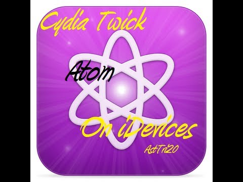 How To Get Atom Cydia Tweak For Free 100% On iPhone 5/4s/4/3Gs & iPod Touch 5th/ 4th - iOS 6.0 Up