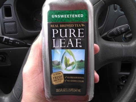 Unsweetend Pure Leaf Tea Review