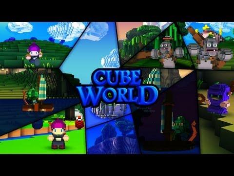 Minecraft Box - Cube World 01: Minecraft RPG?