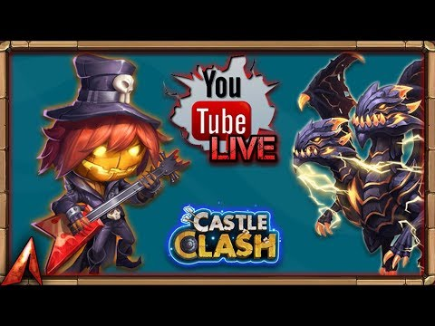 Castle Clash Live Stream and Chill! F2P Things!