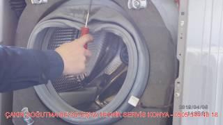 Download Çamaşır Makinesi Körük Kapak Lastiği Degişimi ( yırtık su kaçırıyorsa )- Sesli Bilgiler TR - Teknik Video