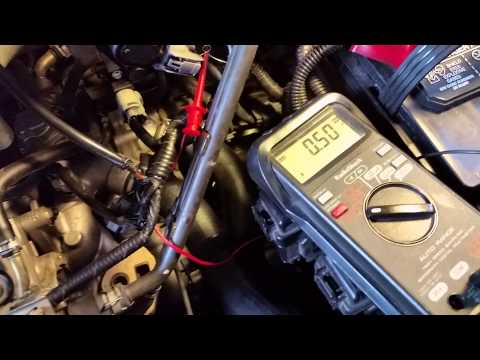 2002 Honda Odyssey TPS and EGR adjustment...